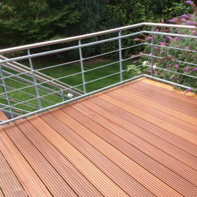 Terrasse Holz Tischler Schreiner