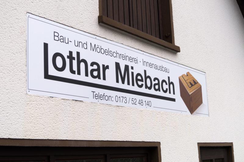 Lothar Miebach Schreinerei