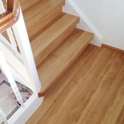 Treppenbau Bodenbelag