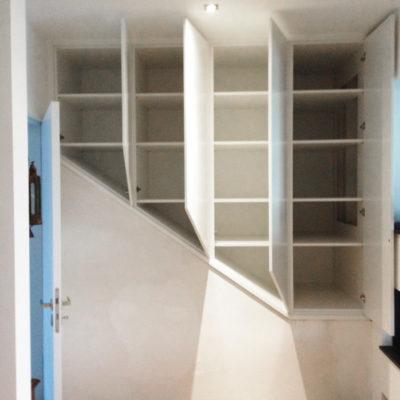 Treppenschrank Einbauschrank Schreiner Tischler